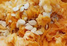 Cómo tomar semillas de calabaza