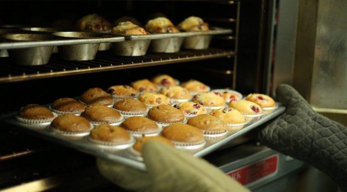 Muffins de fresa